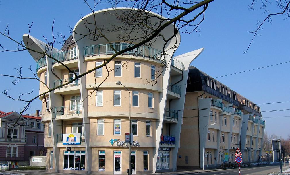 Ušatý dům Wellnerova Olomouc 00