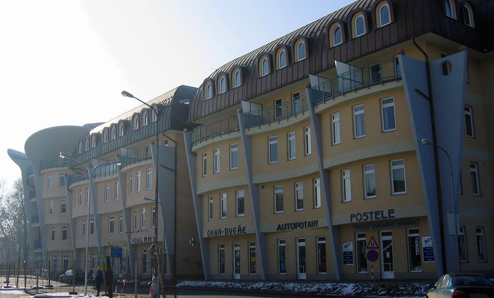 Ušatý dům Wellnerova Olomouc 05