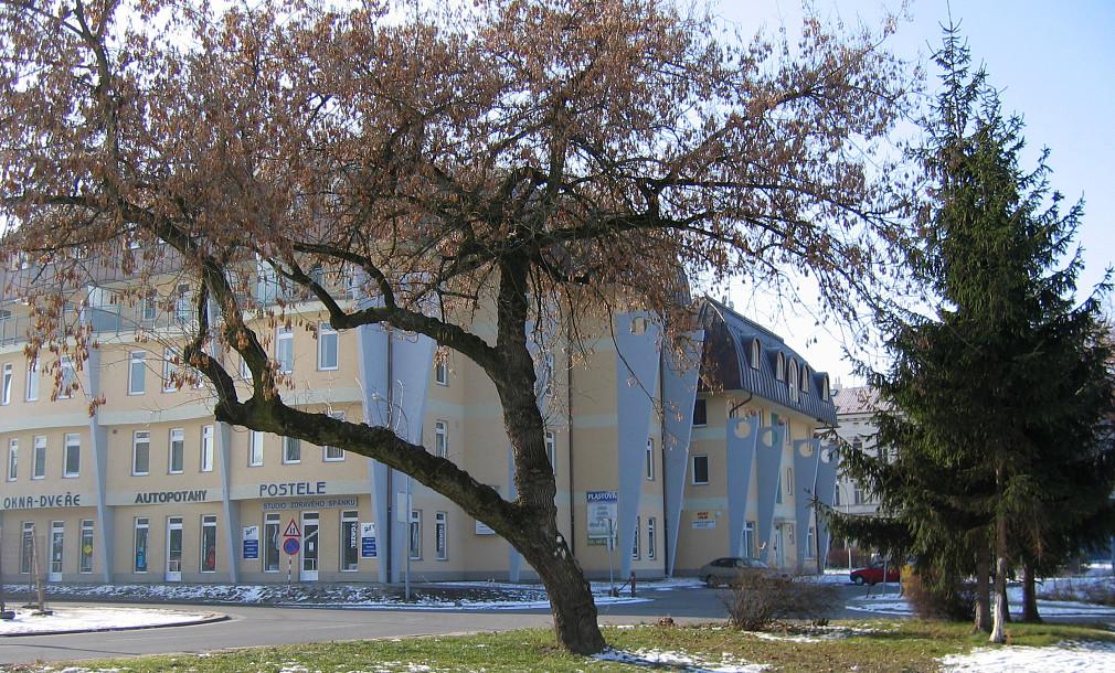 Ušatý dům Wellnerova Olomouc 06