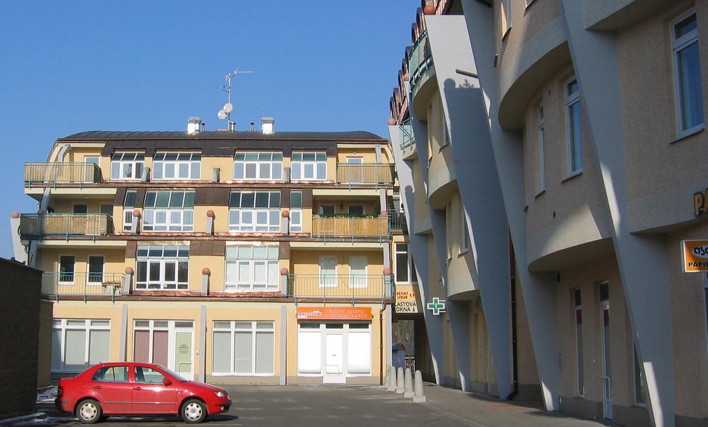 Ušatý dům Wellnerova Olomouc 15