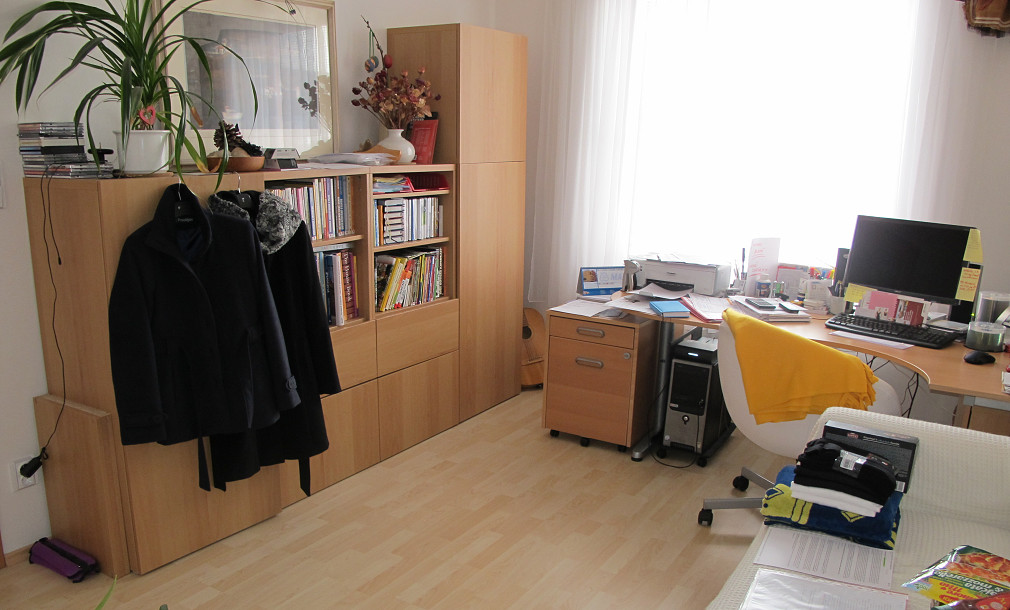 Homestaging - pokoj PŘED 02